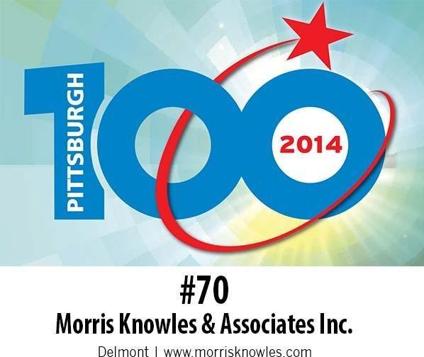 About - Morris Knowles & Associates - MKA_70th_fastest_growing_company