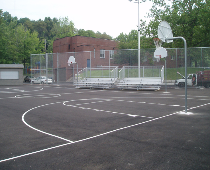 Housing Authority of the City of Pittsburgh - Projects - Morris Knowles & Associates - basketball